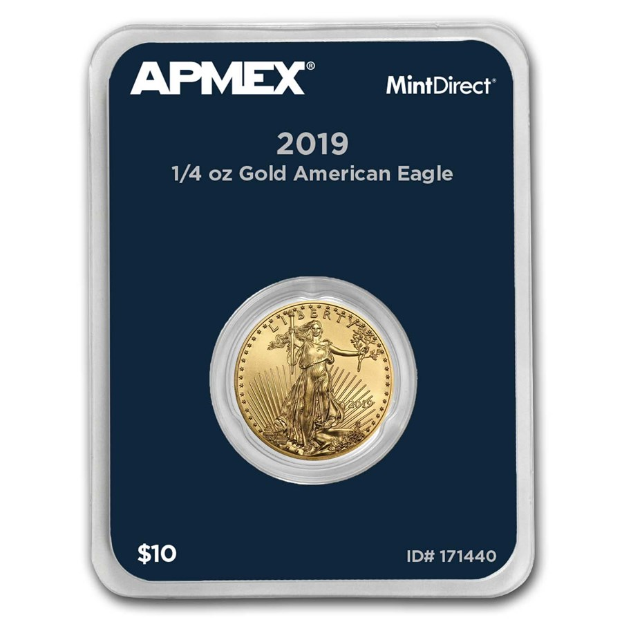 2019 1/4 oz Gold American Eagle (MintDirect® Single)
