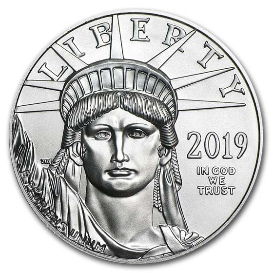 2019 1 oz American Platinum Eagle BU