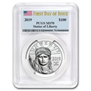 2019 1 oz American Platinum Eagle MS-70 PCGS (First Day of Issue)