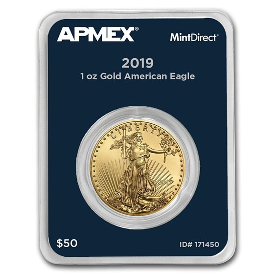 2019 1 oz Gold American Eagle (MintDirect® Single)