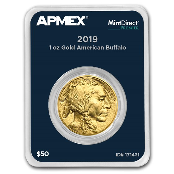 2019 1 oz Gold Buffalo (MintDirect® Premier Single)