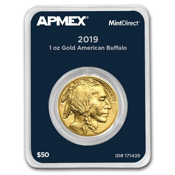 2019 1 oz Gold Buffalo (MintDirect® Single)
