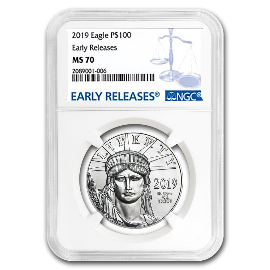 2019 1 oz Platinum American Eagle MS-70 NGC (Early Releases)