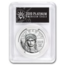 2019 1 oz Platinum American Eagle MS-70 PCGS (FD, Black Label)