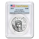 2019 1 oz Platinum American Eagle MS-70 PCGS (FirstStrike®)