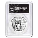 2019 1 oz Platinum American Eagle MS-70 PCGS (FS, Black Label)