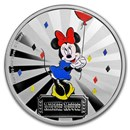 2019 1 oz Silver $2 Disney Carnival Collection: Minnie Mouse