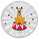 2019 1 oz Silver $2 Disney Carnival Collection: Pluto