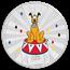 2019 1 oz Silver $2 Disney Carnival Collection: Pluto