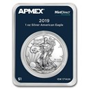 2019 1 oz Silver American Eagle (MintDirect® Premier Single)