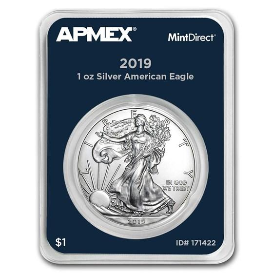 2019 1 oz Silver American Eagle (MintDirect® Single)