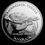 2019 1 oz Silver State Dollars Minnesota Turtle