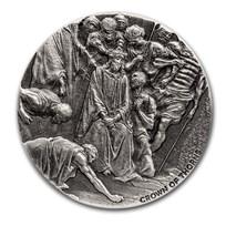 2019 2 oz Silver Coin - Biblical Series (Crown of Thorns)