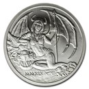 2019 2 oz Silver Round - Temptation of the Succubus BU