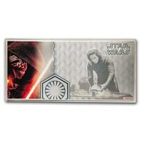 2019 5 gram Silver $1 Note Star Wars The Force Awakens: Kylo Ren