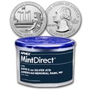 2019 5 oz Silver ATB American Memorial (10-Coin MintDirect® Tube)