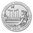 2019 5 oz Silver ATB American Memorial Park, MP (Sealed Box)