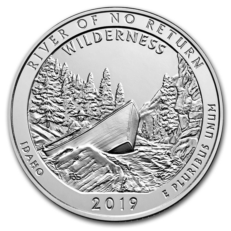 ID 2019 Silver 5 oz ATB Frank Church River of No Return