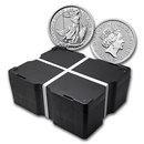 2019 500-Coin 1 oz Silver Britannia Monster Box BU