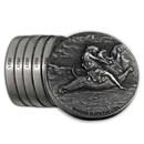 2019 6-Coin Silver Set - Biblical Series (Matching Serial #'s)