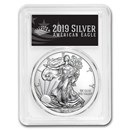 2019 American Silver Eagle MS-70 PCGS (First Day, Black Label)
