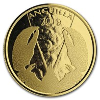 2019 Anguilla 1 oz Gold Lobster BU