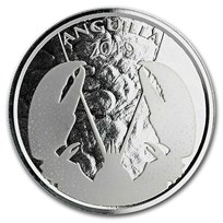 2019 Anguilla 1 oz Silver Lobster BU