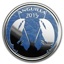 2019 Anguilla 1 oz Silver Lobster (Colorized)