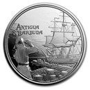 2019 Antigua & Barbuda 1 oz Silver Rum Runner BU