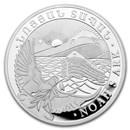 2019 Armenia 1 kilo Silver 10000 Drams Noah's Ark