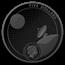 2019 AUS 1 oz Silver Proof Moon Landing PR-70 PCGS (First Day)