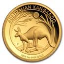 2019 Australia 1 oz Gold Kangaroo Proof (High Relief, Box & COA)