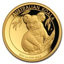 2019 Australia 1 oz Gold Koala Proof (High Relief, Box & COA)