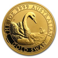2019 Australia 1 oz Gold Swan BU