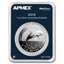 2019 Australia 1 oz Silver $1 Dolphin (MintDirect® Premier)