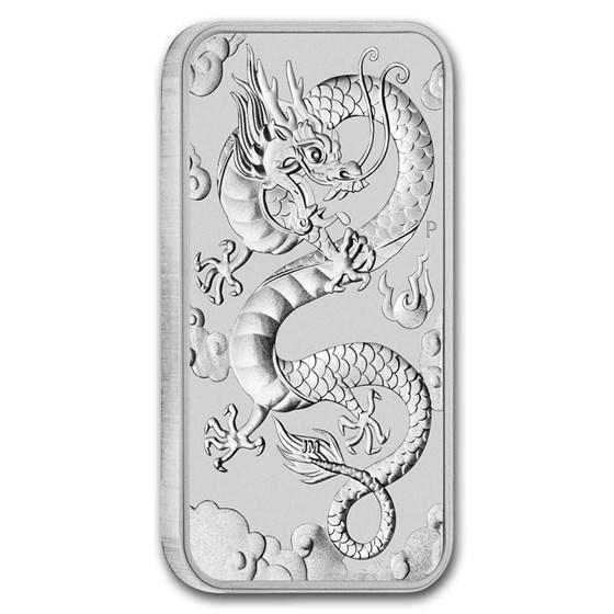 2019 Australia 1 oz Silver Dragon BU