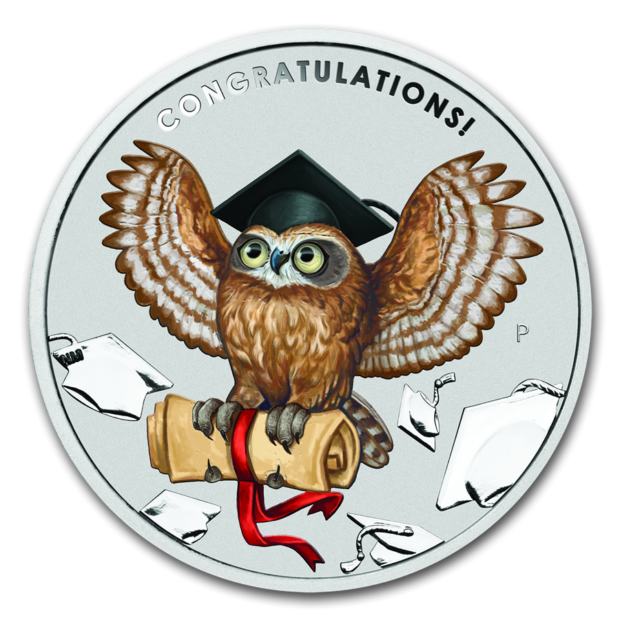 2019 Australia 1 oz Silver Graduation Proof