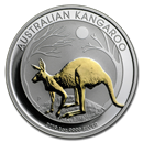 2019 Australia 1 oz Silver Kangaroo Proof (Gilded)