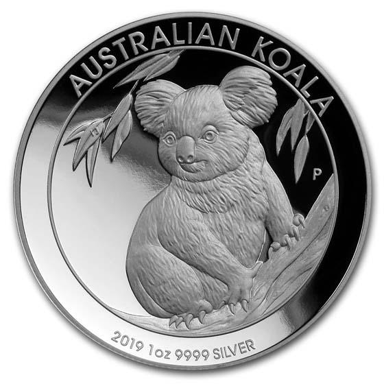 Flag Frame 2012 P Australia 1oz Silver Koala PCGS MS70