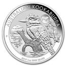 2019 Australia 1 oz Silver Kookaburra BU (Pig Privy)