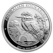 2019 Australia 1 oz Silver Kookaburra BU