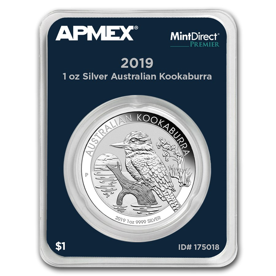 2019 Australia 1 oz Silver Kookaburra (MintDirect® Premier)