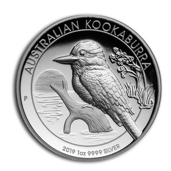 2019 Australia 1 oz Silver Kookaburra Proof (High Relief)