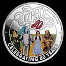 2019 Australia 1 oz Silver The Wizard of Oz 80th Anniv Proof