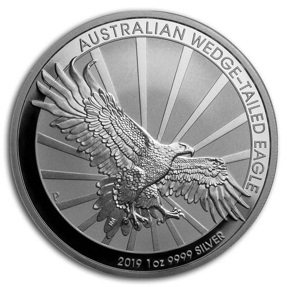 2019 Australia 1 oz Silver Wedge Tailed Eagle BU