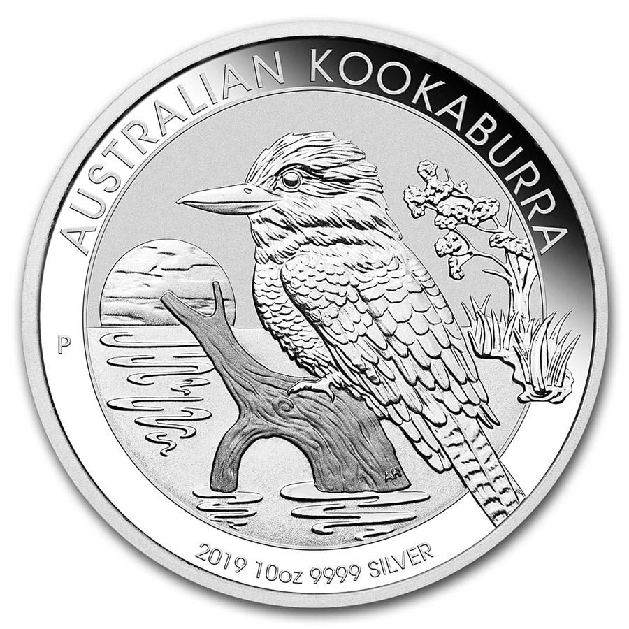 2019 Australia 10 oz Silver Kookaburra BU