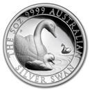 2019 Australia 5 oz Silver Swan Proof (High Relief, w/Box & COA)