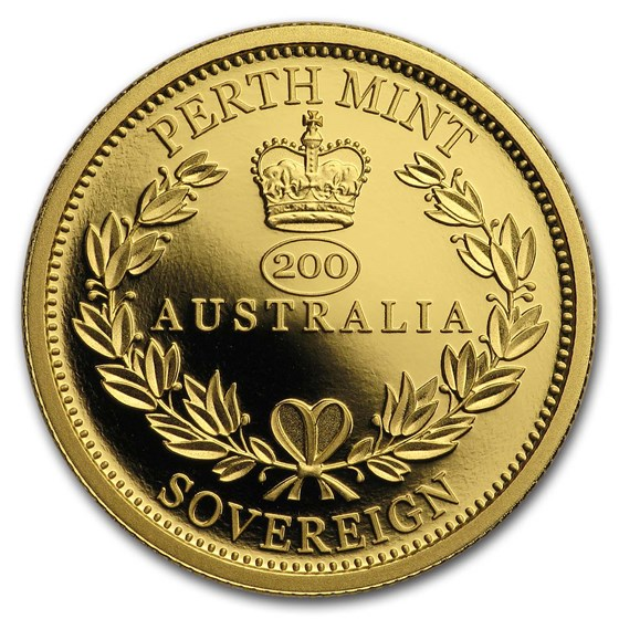 2019 Australia Gold Sovereign Proof