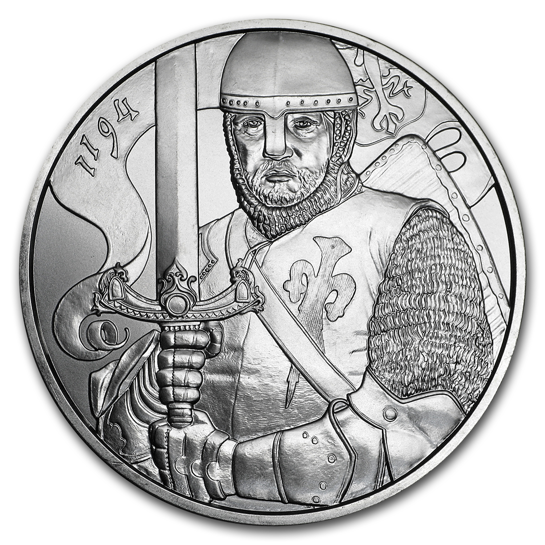 2019 Austrian 1 oz Ag 825th Anniversary of the Austrian Mint Leopold BU