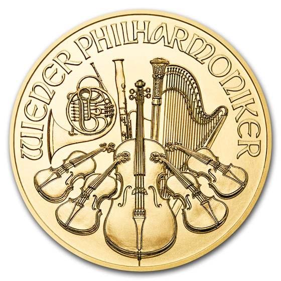 2019 Austria 1 oz Gold Philharmonic BU